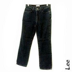 Lee classic fit straight leg jeans 30x25